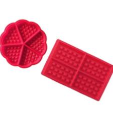 gofres con silicona